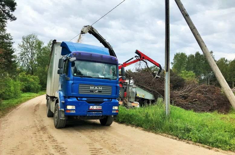 Birstošos kravu pārvadājumi